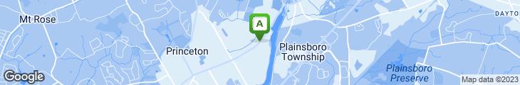 Map of Al Jon's Pizzeria