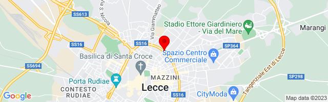 Google Map di 40.3608395,18.1806765