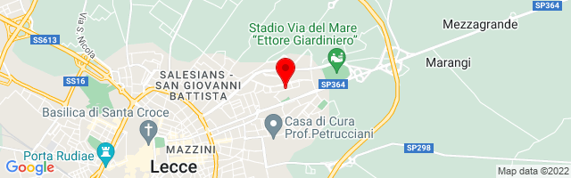 Google Map di 40.3629523,18.1991101