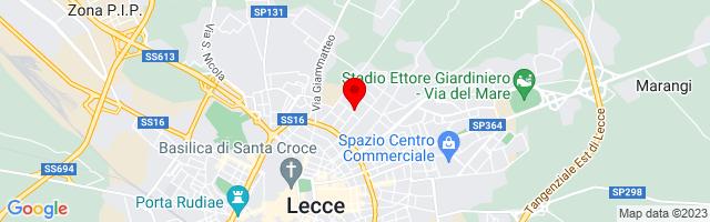 Google Map di 40.36387692923128,18.18265199661255