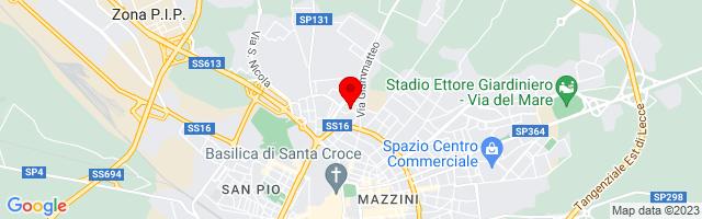 Google Map di 40.36478,18.17512