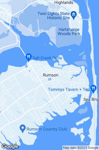 Map of Rumson