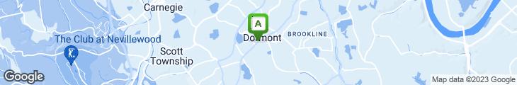 Map of Tom's Diner