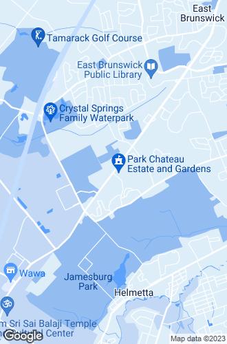 Map of East Brunswick