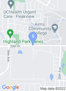 Aims Community College map
