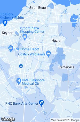 Map of Hazlet