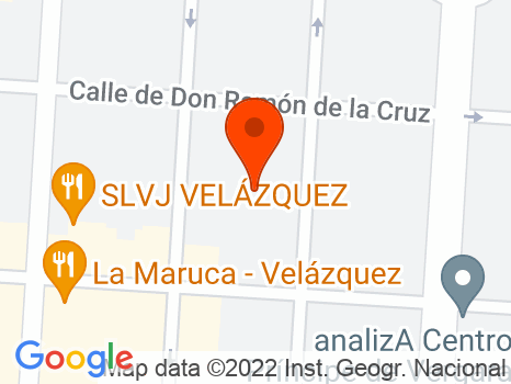 230844 - Calle General Pardiñas muy cerca del Metro de Goya.