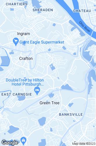 Map of Crafton