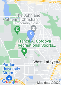 Purdue University map