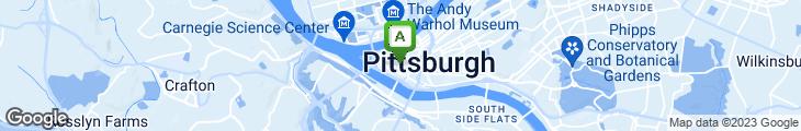 Map of Penn Avenue Fish Company