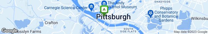 Map of Primanti Bros.