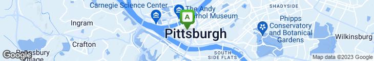 Map of The Smithfield Cafe