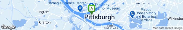 Map of Six Penn Kitchen