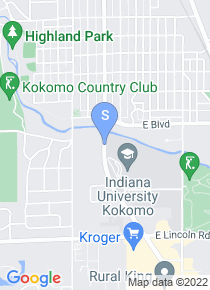 IU Kokomo map