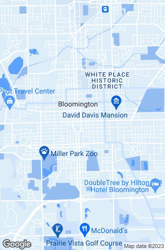 Map of Bloomington