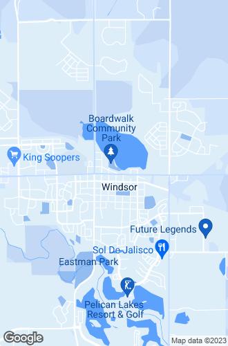 Map of Windsor