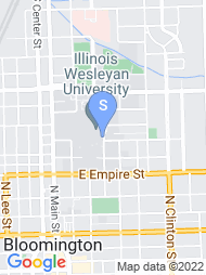 Illinois Wesleyan University map