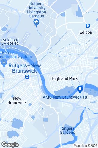 Map of Highland Park