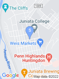 Juniata College map