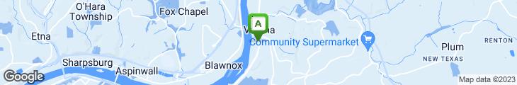 Map of Rivertowne Inn