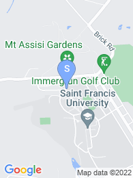 Saint Francis University map