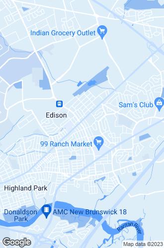 Map of Edison