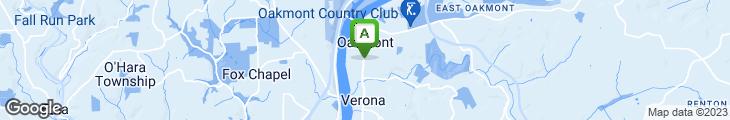 Map of Cafe Vita