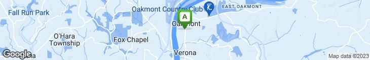 Map of Hoffstot's Cafe Monaco