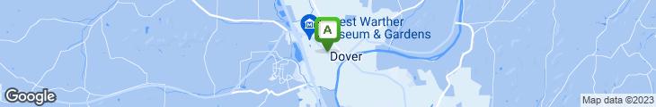 Map of Elizabeth's Lavender & Lace Tea Room & Gifts