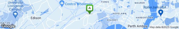 Map of Harold's New York Deli