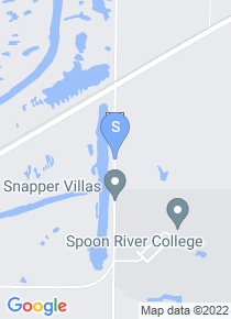 Spoon River College map