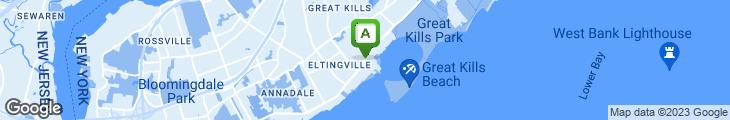 Map of Big Al's