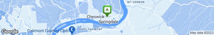 Map of Ladles of Springdale