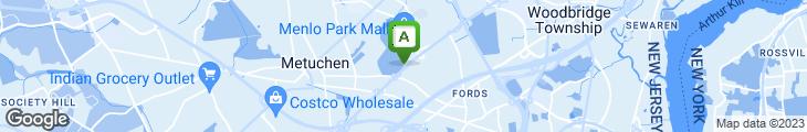 Map of Menlo Park Diner