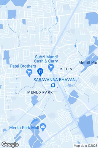 Map of Iselin