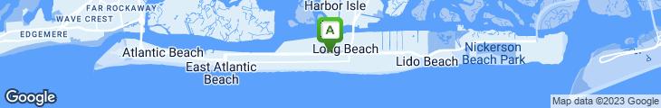 Map of Ocean Park Diner