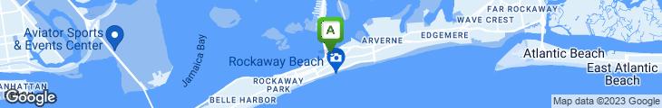 Map of Rockaway Lobster House