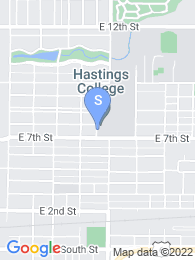 Hastings College map