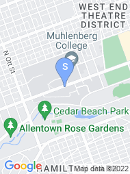 Muhlenberg College map