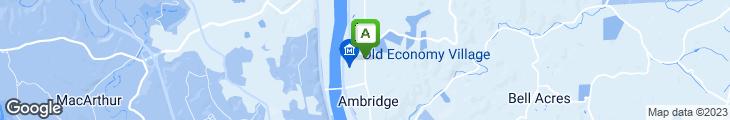 Map of Ambridge Italian Villa