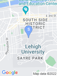 Lehigh University map