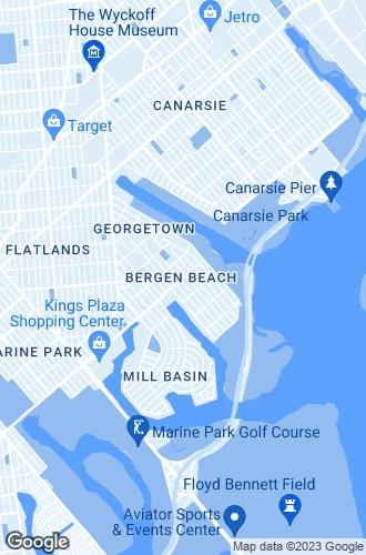 Map of Brooklyn