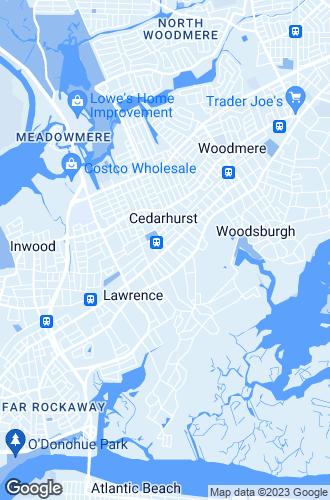 Map of Cedarhurst