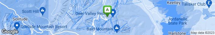 Map of Glitretind Restaurant