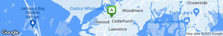 Map of Sherwood Diner Restaurant