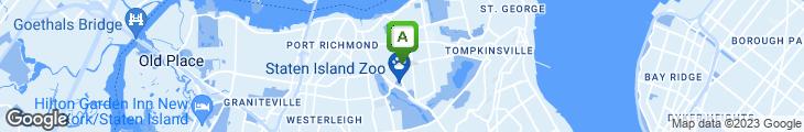 Map of Green Garden Chinese Restaurant