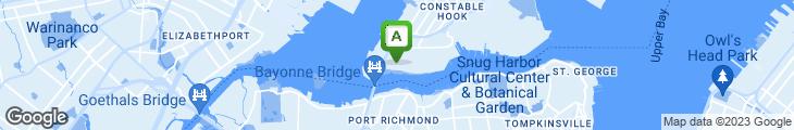 Map of Chris' Corner