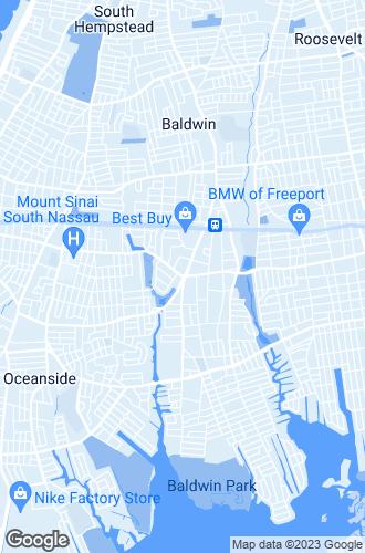 Map of Baldwin
