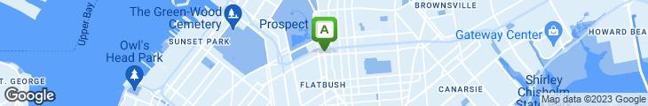 Map of Baskin-Robbins