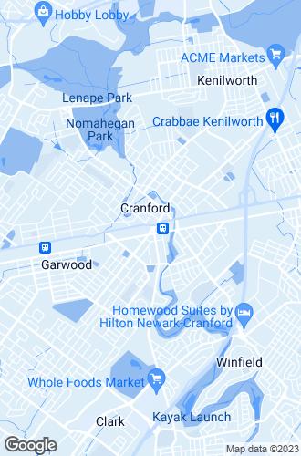 Map of Cranford